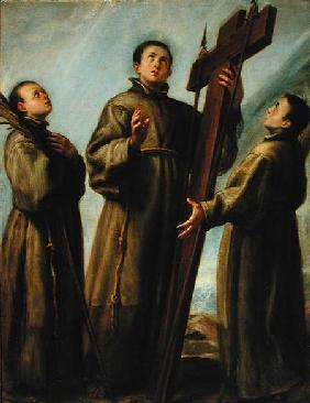 Three Franciscan Martyrs in Japan