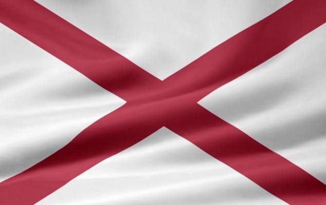 Flagge alabama