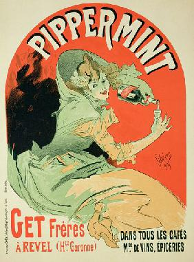 Reproduction of a poster advertising 'Pippermint'