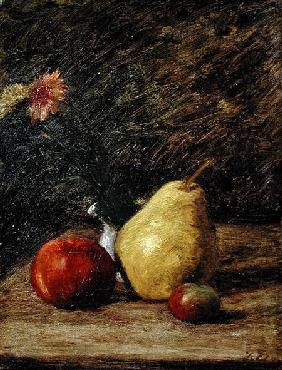 Still life with a Pear