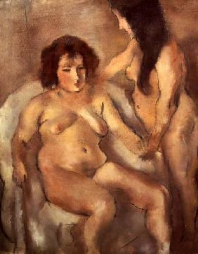 Two Nude Women (The Bordello)