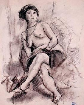 Seated Nude Model