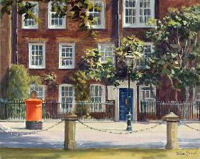South Audley Street (oil on canvas)