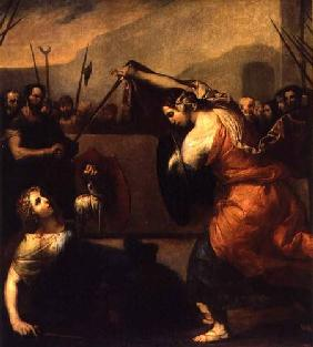 The Duel of Isabella de Carazzi and Diambra de Pettinella