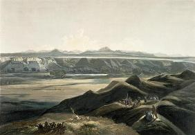 View of the Rocky Mountains, plate 44 from Volume 2 of 'Travels in the Interior of North America', e