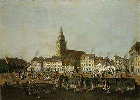 View of the Neue Markt with St. Mary''s Church, Berlin, c.1770
