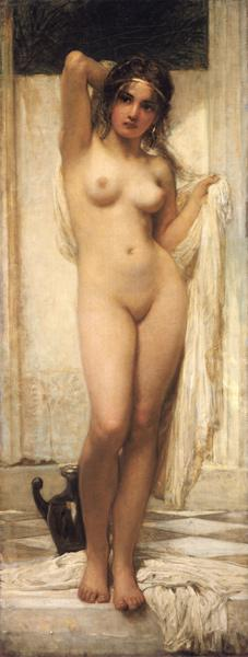 Girl after the bath. 1901