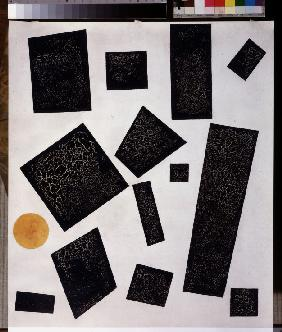 Suprematism composition