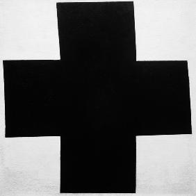 Malevich, Kazimir Severinovich : The black cross.