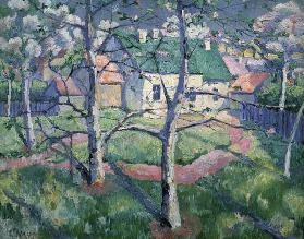 Malevich / Apple Trees in Blossom