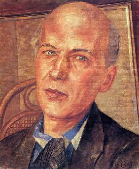 Portrait of the Poet Andrei Bely (1880-1934)
