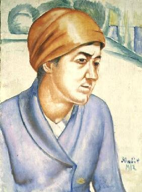 Portrait of a Woman Worker