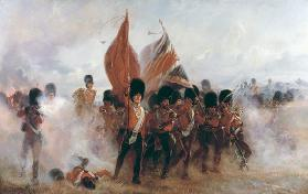 Scots Guards saving the Colours at Alma, 1854