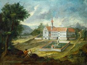 The Ochsenhauser caring castle into pine forest ho
