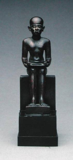 Figure of Imhotep (c.2635-2595 BC) Late Period