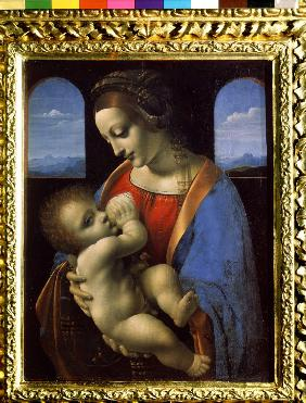 Madonna and Child (The Litta Madonna)