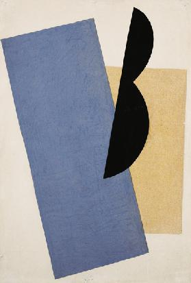 Composition (Blue-Yellow-Black)