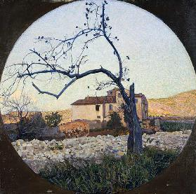 Dead chestnut tree, 19th century (painting)