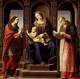 The Madonna with the hll.Julian and Nikolaus of My