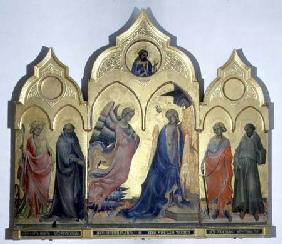 Annunciation with Saints