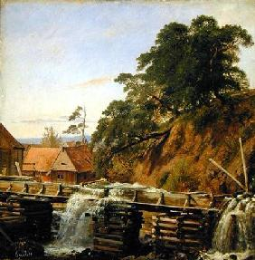 A Watermill in Christiania