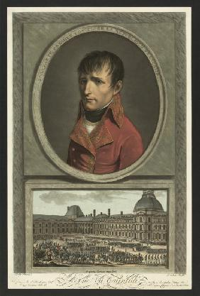 Napoleon Bonaparte as First Consul of France