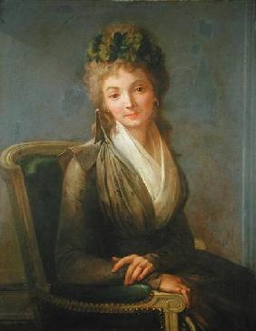 Portrait presumed to be Lucile Desmoulins (1771-94)