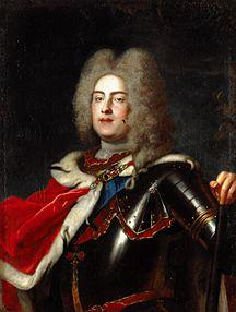 King August III. of Poland (Friedrich August II. o