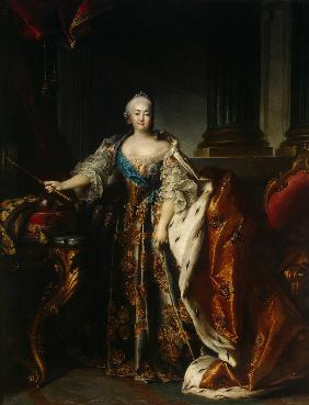 Portrait of Empress Elizabeth (1709-1762)