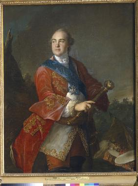 Portrait of Count Kirill Razumovsky (1728-1803), the last Hetman of Ukraine