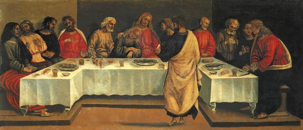 Predella Panel: Last Supper