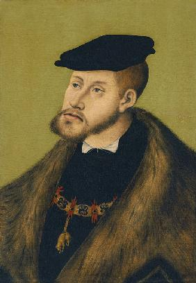 Portrait of the Emperor Charles V (1500-1558)