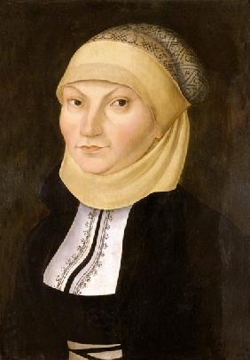 Portrait of Katharina of Bora, wife of Martin Luth