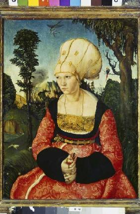 Portrait of the wife the DrCuspinian