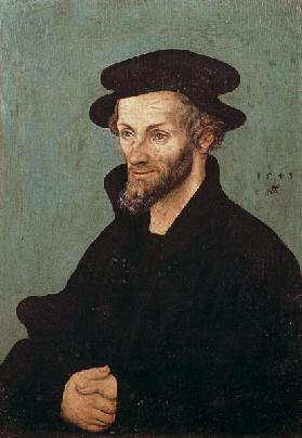 Portrait of Philipp Melanchthon (1497-1560)