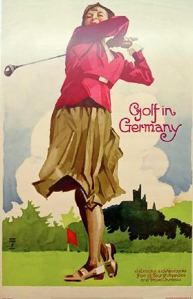 Golf in Germany / Information and Handbooks from all Tourist Agencies and Travel Bureaus