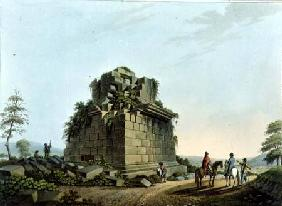The Base of a Colossal Column near Syracuse, plate 28 from 'Views in the Ottoman Dominions', pub. by
