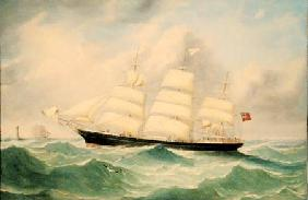 McLachlan, M. : Full Rigged Ship 'Mary Sco...