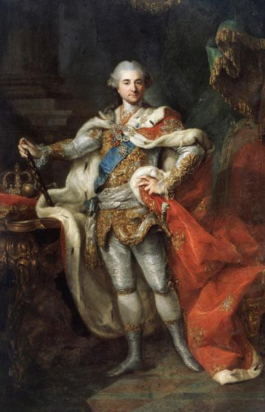 Portrait of Stanislaw II August Poniatowski, King and Grand Duke of the Polish-Lithuanian Commonweal