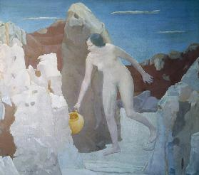 The spring, 1935 (oil on canvas)