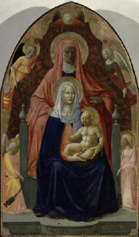 St.Anne, Mary & Child