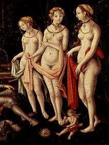 (the three graces detail from the painting the des
