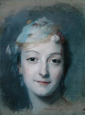 Portrait of Marie Fel (1713-78)