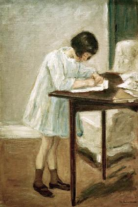 the writing granddaughter