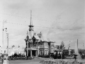 The All-Russian Exhibition in Nizhny Novgorod. Tsars Pavilion