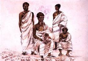 'C.C.C. Ashantee Chiefs and King Coffe Kollally Son'