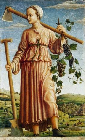 The Muse Polyhymnia as an inventor of the agricult
