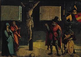 Crucifixion Christi with Johannes and Maria as wel