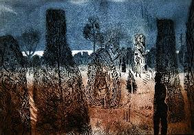 Encounter at Packwood (etching)