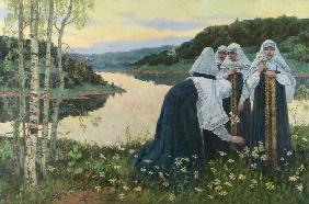 The novices on the shore